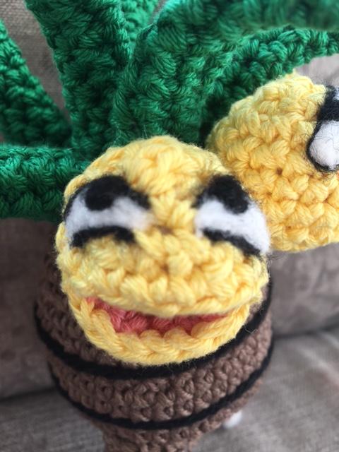 exeggutor kokowei crochet amigurumi 2