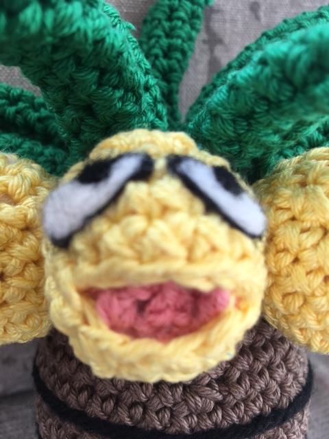 exeggutor kokowei crochet amigurumi 3